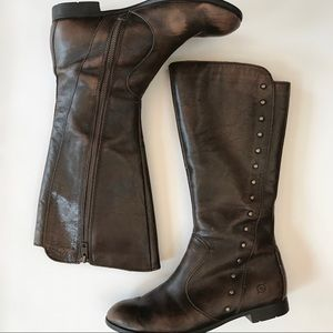 Born distressed riding boots-8